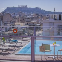 Отель Novus City Hotel Греция, Афины - отзывы, цены и фото номеров - забронировать отель Novus City Hotel онлайн балкон