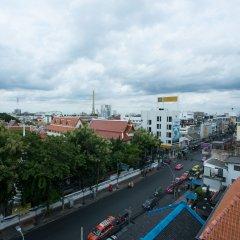 AlphaBed Hostel Bangkok балкон
