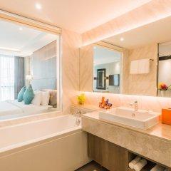 Отель Citrus Suites Sukhumvit 6 By Compass Hospitality Бангкок ванная