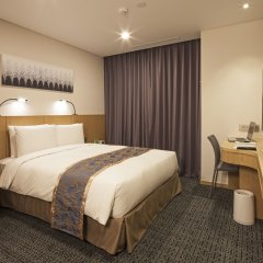 Отель Tmark Grand hotel Myeongdong Южная Корея, Сеул - отзывы, цены и фото номеров - забронировать отель Tmark Grand hotel Myeongdong онлайн комната для гостей фото 6