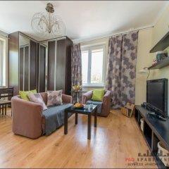 Отель P&O Apartments Muranow Польша, Варшава - отзывы, цены и фото номеров - забронировать отель P&O Apartments Muranow онлайн комната для гостей фото 2