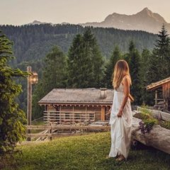 Hotel The Originals Borgo Eibn Mountain Lodge (ex Relais du Silence) Саурис