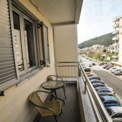 Отель Center City Lux Черногория, Будва - отзывы, цены и фото номеров - забронировать отель Center City Lux онлайн балкон