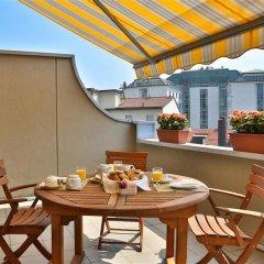 Отель C-Hotels Atlantic Милан балкон