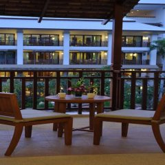 Отель Ravindra Beach Resort And Spa балкон