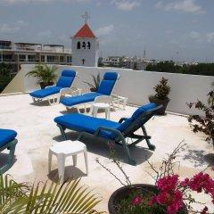Отель El Campanario Studios & Suites Мексика, Плая-дель-Кармен - отзывы, цены и фото номеров - забронировать отель El Campanario Studios & Suites онлайн бассейн