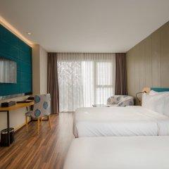Отель Quinter Central Nha Trang Вьетнам, Нячанг - отзывы, цены и фото номеров - забронировать отель Quinter Central Nha Trang онлайн комната для гостей