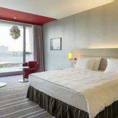 Radisson Blu Media Harbour Hotel, Düsseldorf комната для гостей фото 4