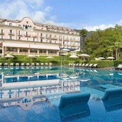 Отель SIMPLON Бавено бассейн