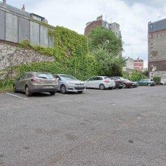 Отель Kyriad Paris Nord Porte de St Ouen парковка
