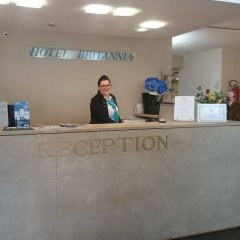 Hotel Britannia интерьер отеля фото 2