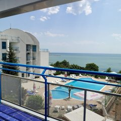 Отель Iceberg Hotel Болгария, Балчик - отзывы, цены и фото номеров - забронировать отель Iceberg Hotel онлайн балкон