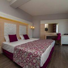 Sunmelia Beach Resort Hotel Сиде комната для гостей фото 4