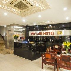 Отель My Lan Hanoi Hotel Вьетнам, Ханой - отзывы, цены и фото номеров - забронировать отель My Lan Hanoi Hotel онлайн интерьер отеля