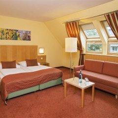 Отель Park Inn by Radisson Uno City Vienna Австрия, Вена - 4 отзыва об отеле, цены и фото номеров - забронировать отель Park Inn by Radisson Uno City Vienna онлайн комната для гостей фото 5
