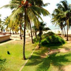 Отель Golden Star Beach Hotel Шри-Ланка, Негомбо - отзывы, цены и фото номеров - забронировать отель Golden Star Beach Hotel онлайн пляж фото 2