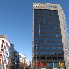 Отель Park Inn By Radisson Stockholm Hammarby Sjöstad Швеция, Стокгольм - 12 отзывов об отеле, цены и фото номеров - забронировать отель Park Inn By Radisson Stockholm Hammarby Sjöstad онлайн вид на фасад