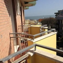 Отель Stradiot Италия, Римини - отзывы, цены и фото номеров - забронировать отель Stradiot онлайн балкон