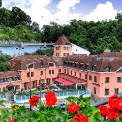 Отель Hoffmeister&Spa Прага приотельная территория