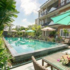 Отель The Cliff Boutique Village Хойан бассейн фото 3