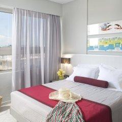 Отель Aquamare Hotel Греция, Родос - отзывы, цены и фото номеров - забронировать отель Aquamare Hotel онлайн комната для гостей фото 5
