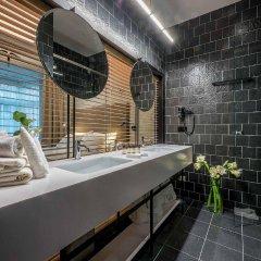 Отель Artagonist Art Hotel Литва, Вильнюс - 1 отзыв об отеле, цены и фото номеров - забронировать отель Artagonist Art Hotel онлайн ванная фото 2