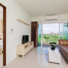 Отель JJAirportHotelCondominium For Rent 2 Таиланд, пляж Май Кхао - отзывы, цены и фото номеров - забронировать отель JJAirportHotelCondominium For Rent 2 онлайн комната для гостей фото 4