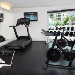 Отель Calinda Beach Acapulco фитнесс-зал