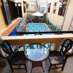 Отель An Hoi Hotel Вьетнам, Хойан - отзывы, цены и фото номеров - забронировать отель An Hoi Hotel онлайн балкон