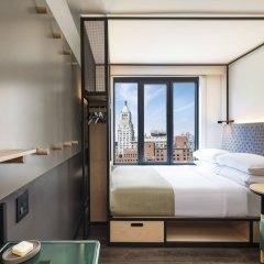 Отель Moxy NYC East Village США, Нью-Йорк - отзывы, цены и фото номеров - забронировать отель Moxy NYC East Village онлайн комната для гостей
