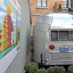 Hotel Vintage Airstream Брюссель парковка
