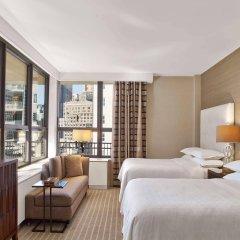Отель Sheraton New York Times Square Hotel США, Нью-Йорк - 1 отзыв об отеле, цены и фото номеров - забронировать отель Sheraton New York Times Square Hotel онлайн комната для гостей фото 2