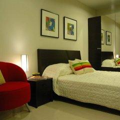Апартаменты Bangkok Living Apartment Бангкок комната для гостей