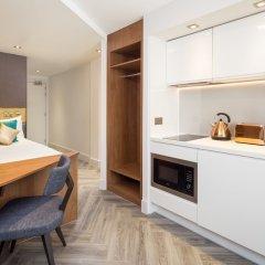 Отель Roomzzz London Stratford в номере