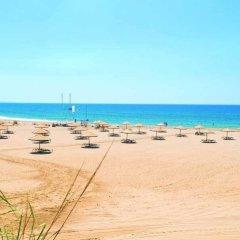 Отель The Kumul Deluxe Resort & Spa Сиде пляж