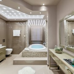 Отель Kassandra Village Resort Греция, Пефкохори - отзывы, цены и фото номеров - забронировать отель Kassandra Village Resort онлайн ванная
