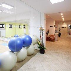 Отель Hubert Чехия, Франтишкови-Лазне - отзывы, цены и фото номеров - забронировать отель Hubert онлайн фитнесс-зал фото 2