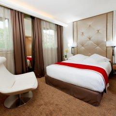 Отель Privilège Hôtel Mermoz Франция, Тулуза - отзывы, цены и фото номеров - забронировать отель Privilège Hôtel Mermoz онлайн комната для гостей фото 2