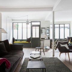Отель onefinestay - Batignolles Apartments Франция, Париж - отзывы, цены и фото номеров - забронировать отель onefinestay - Batignolles Apartments онлайн комната для гостей фото 4