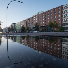 Отель Motel One Hamburg-Altona Германия, Гамбург - отзывы, цены и фото номеров - забронировать отель Motel One Hamburg-Altona онлайн приотельная территория