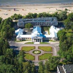 Hedon Spa & Hotel пляж