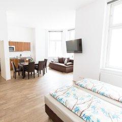 Апартаменты Leonhard Apartments Vienna Вена комната для гостей