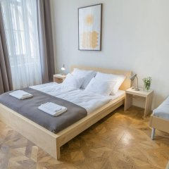 Апартаменты Bohemia Apartments Prague Centre комната для гостей фото 5