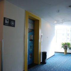 Отель 7 Days Inn Jiangmen 1st Gangkou Road Phoenix Mountain Station Branch сауна