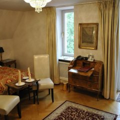 Отель Schloss Monchstein Зальцбург комната для гостей