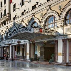 Отель Марриотт Москва Ройал Аврора вид на фасад фото 2