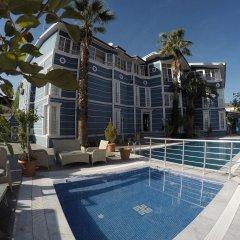 Melrose Viewpoint Hotel Турция, Памуккале - 1 отзыв об отеле, цены и фото номеров - забронировать отель Melrose Viewpoint Hotel онлайн бассейн фото 2