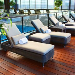 Отель DoubleTree by Hilton Montreal Канада, Монреаль - отзывы, цены и фото номеров - забронировать отель DoubleTree by Hilton Montreal онлайн бассейн фото 3