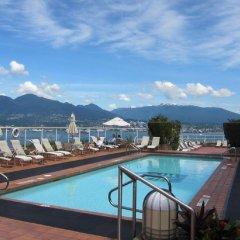 Отель Pan Pacific Vancouver Канада, Ванкувер - отзывы, цены и фото номеров - забронировать отель Pan Pacific Vancouver онлайн бассейн