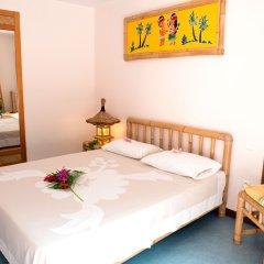Отель Hibiscus Французская Полинезия, Муреа - отзывы, цены и фото номеров - забронировать отель Hibiscus онлайн комната для гостей